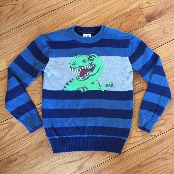 1bfba09e5947a3 GAP Kids Dinosaur Sweater. M 5a6b450b45b30c53b1ebaaaf